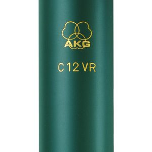 AKG 12C12VR is a reference multi-pattern tube studio condenser microphone